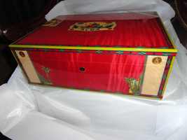 Elie Bleu  Alba Red Sycamore Humidor 200 ct image 3