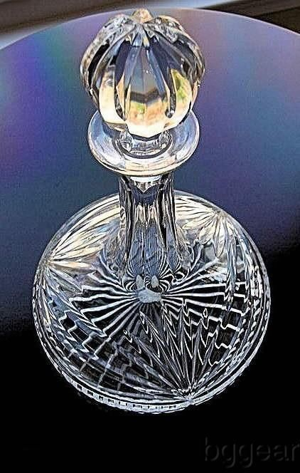 Waterford Marquis Ships Decanter of heavy cut crystal with original box