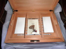 Elie Bleu  Alba Red Sycamore Humidor 200 ct image 7