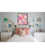 Watercolor Print, Abstract Wall Art, colors Watercolour Painting, Brush ... - $1.10