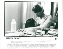 Vintage photo of Peter Coyote with Emmanuelle Seigner  - $16.61