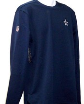 Dallas Cowboys 2018 Nike Sideline Modern Crew Neck Navy Sweatshirt Adult... - $59.99