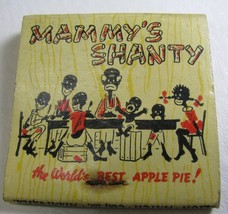 Mammy's Shanty Vintage Matchbooks Restaurant in the South  *Black Americ... - $24.95
