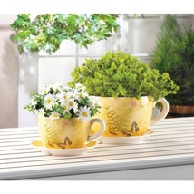 Garden Butterfly Teacup Planter Available in Two Sizes - $34.95+