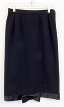 New Valentino Night Italy Vintage sz 10 Black S... - $139.99