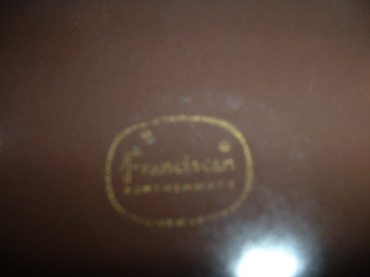 "Franciscan Earthenware 10 3/4"" dinnerplate"