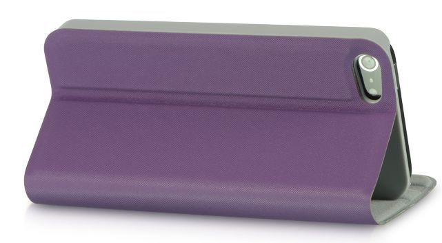 Luxmo Impact-Resistant Cell Phone Stand Dolce Pouch Case the iPhone 5 - Purple image 3
