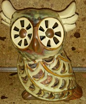 "Ceramic Owl Potpourri Holder with Scented Potpourri 5"" - $19.79"
