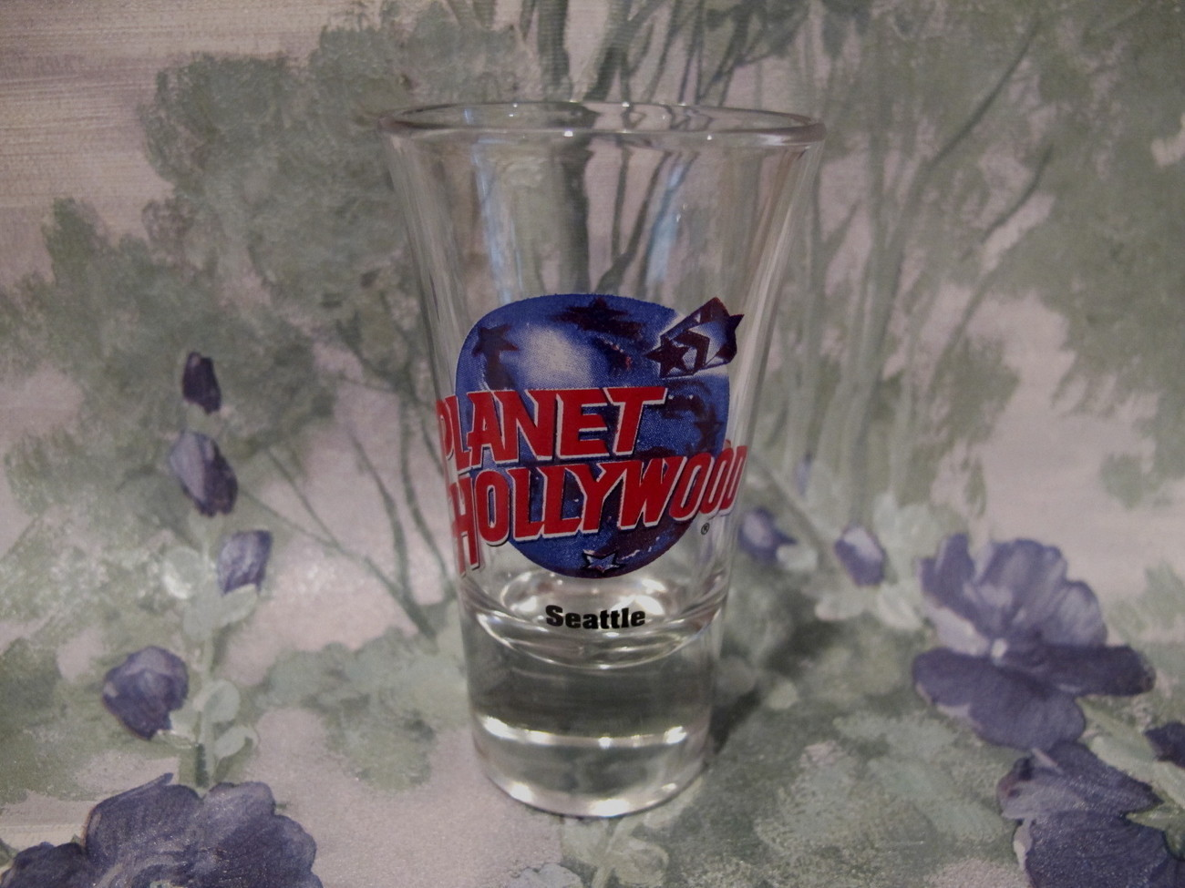 Primary image for Planet Hollywood Seattle Washington Shot Glass Souvenir Collectible Vintage