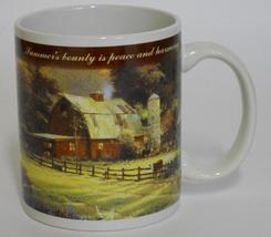 Deer Creek Cottage Thomas Kinkade ~ Cup Mug Summer's Bounty is Peace and Harmony - $21.95
