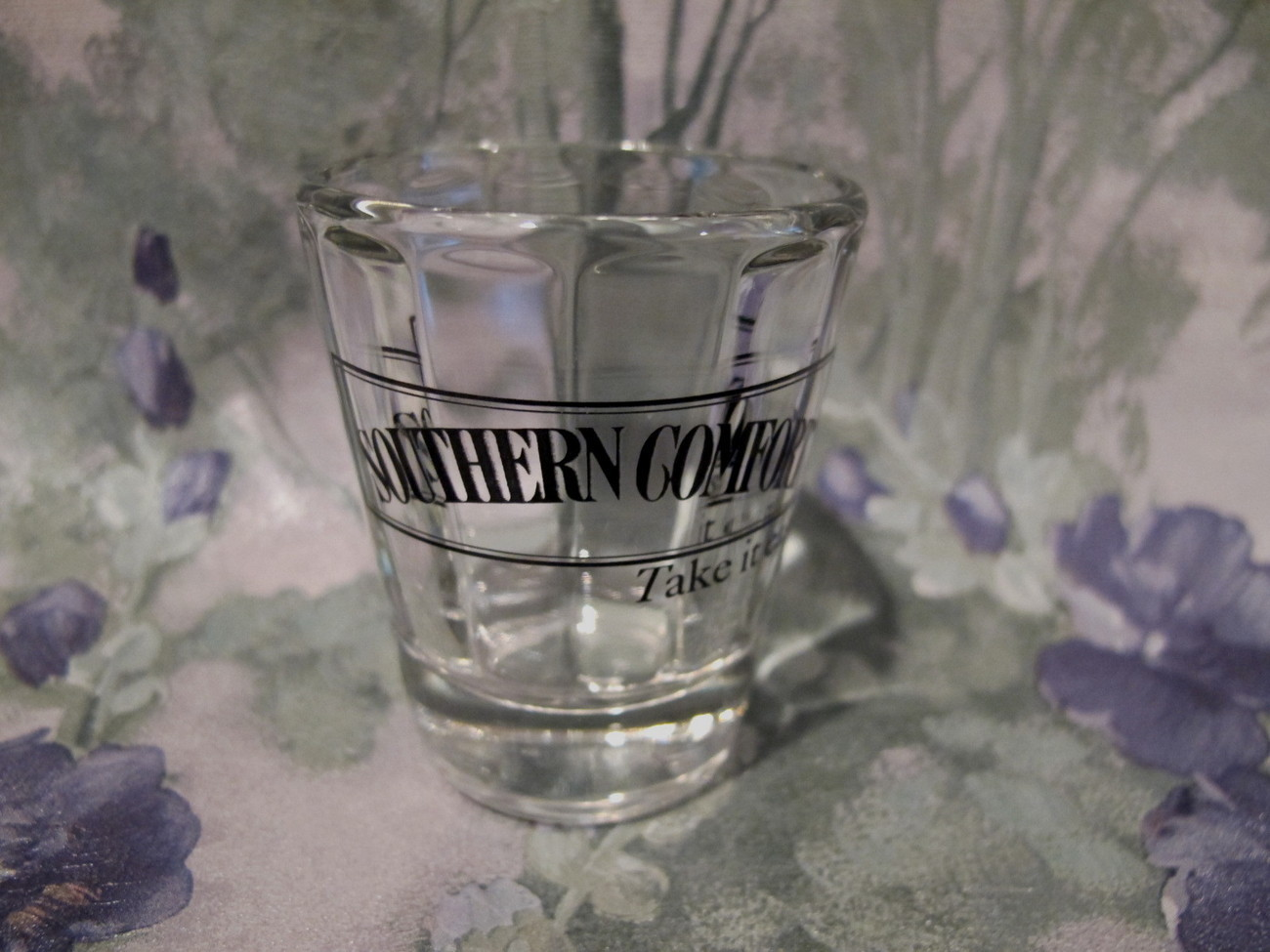 Primary image for Southern Comfort Shot Glass Vintage Souvenir Collector Collectible Take It Easy
