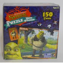 Dreamworks ~ Shrek ~ 150 Piece Collector Puzzle W Sticker Sheet & Poster... - $19.95
