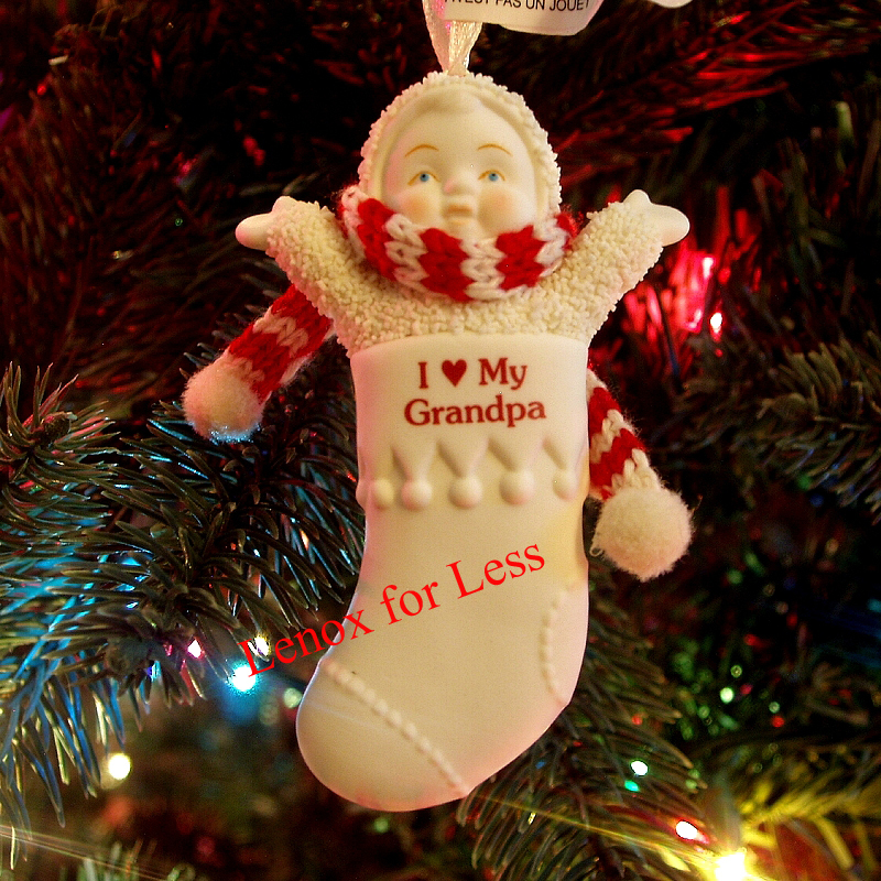 Primary image for SNOWBABIES I Love My Grandpa Stocking Ornament