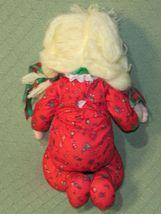 "16"" Applause CHRISTINE Vintage Cloth Doll Marge Toner CHRISTMAS Pajamas Blonde  image 6"