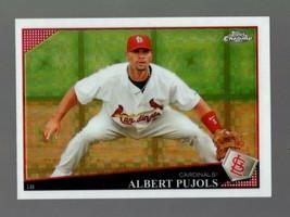 2009 Topps Chrome Xfractor #86 Albert Pujols Xfractor Cardinals - $3.99