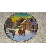 """Avon """"Home For The Holidays"""" 1988 Christmas Plate - $10.99"""