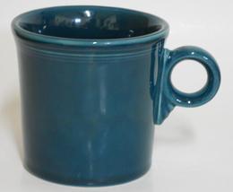 Homer Laughlin ~ Fiesta ~ Juniper Dark Blue Green Tom & Jerry ~ Cup  Mug... - $24.95