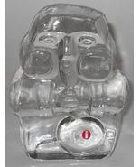 IITTALA Art Glass ~ Card Glass Blower ~ Nuutajarvi Finland ~ Paperweight... - $69.95