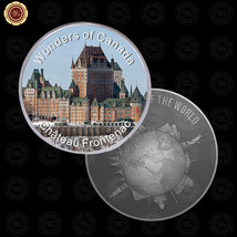 WR Wonders of Canada Chateau Frontenac World Silver Coins Collecting Pre... - $7.41