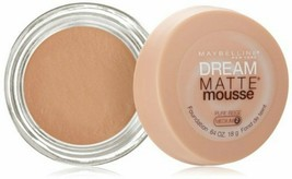 2x Maybelline Dream Matte Mousse Foundation 0.64 oz - Pure Beige Medium 2 - $12.89