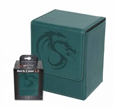 1x BCW GAMING DECK CASE BOX - LX - TEAL - Leatherette with Magnetic Closure - $8.83