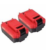 2 Pack 20V Max 6.0Ah Lithium PCC685L Battery Replacement for Porter Cabl... - $76.26