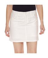 """St. John's Bay Cotton Blend White 5"""" Skort Size 4, 6, 8, 10, 12, 14, 16 New - $21.99"""