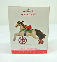 "Hallmark Keepsake Christmas Ornament ""A Pony For Christmas"" QX9141 - $44.54"