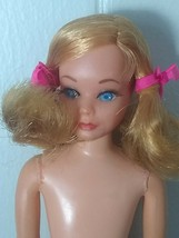Vintage Barbie Doll Mod Skipper DRAMATIC NEW LIVING FLUFF DOLL #1143 Mat... - $35.89