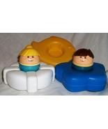 Little Tikes Bath Toys with 2 Tikes People + 3 ... - $5.75