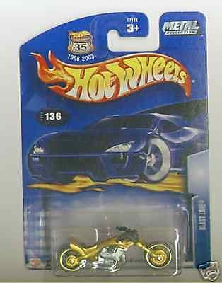 Hot Wheels 2003 Collector 136 Blast Lane Gold Black HB