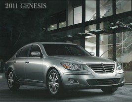 2011 Hyundai GENESIS Sedan sales brochure catalog US 11 3.8 4.6 - $10.00
