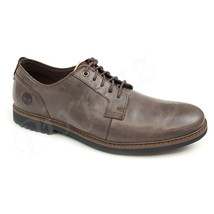 Timberland Men's Lafayette Park Brown Leather Oxford Shoes A1QE6 - $69.99