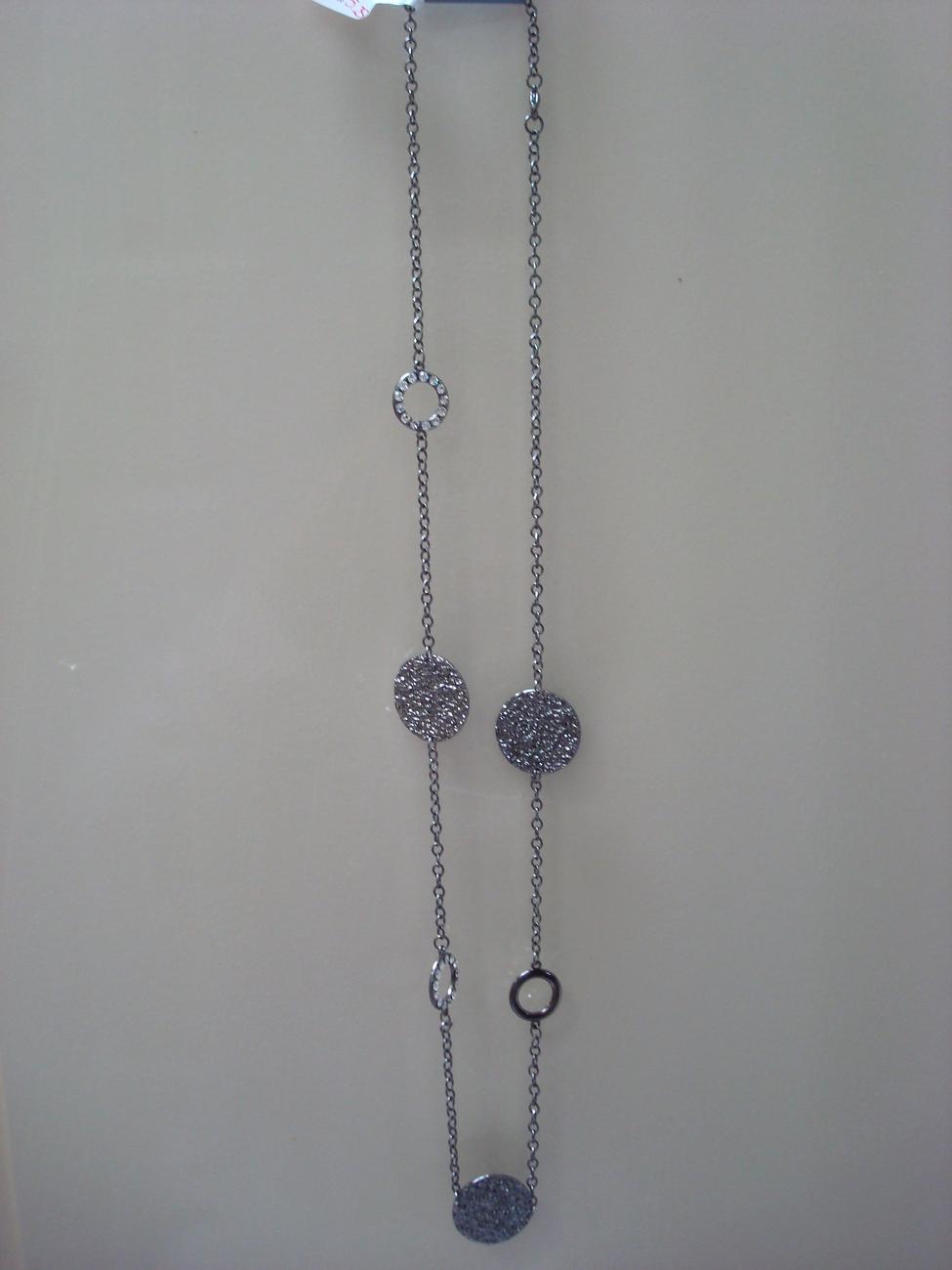 Pretty long necklace... great for clubbing... free shipping Bonanza