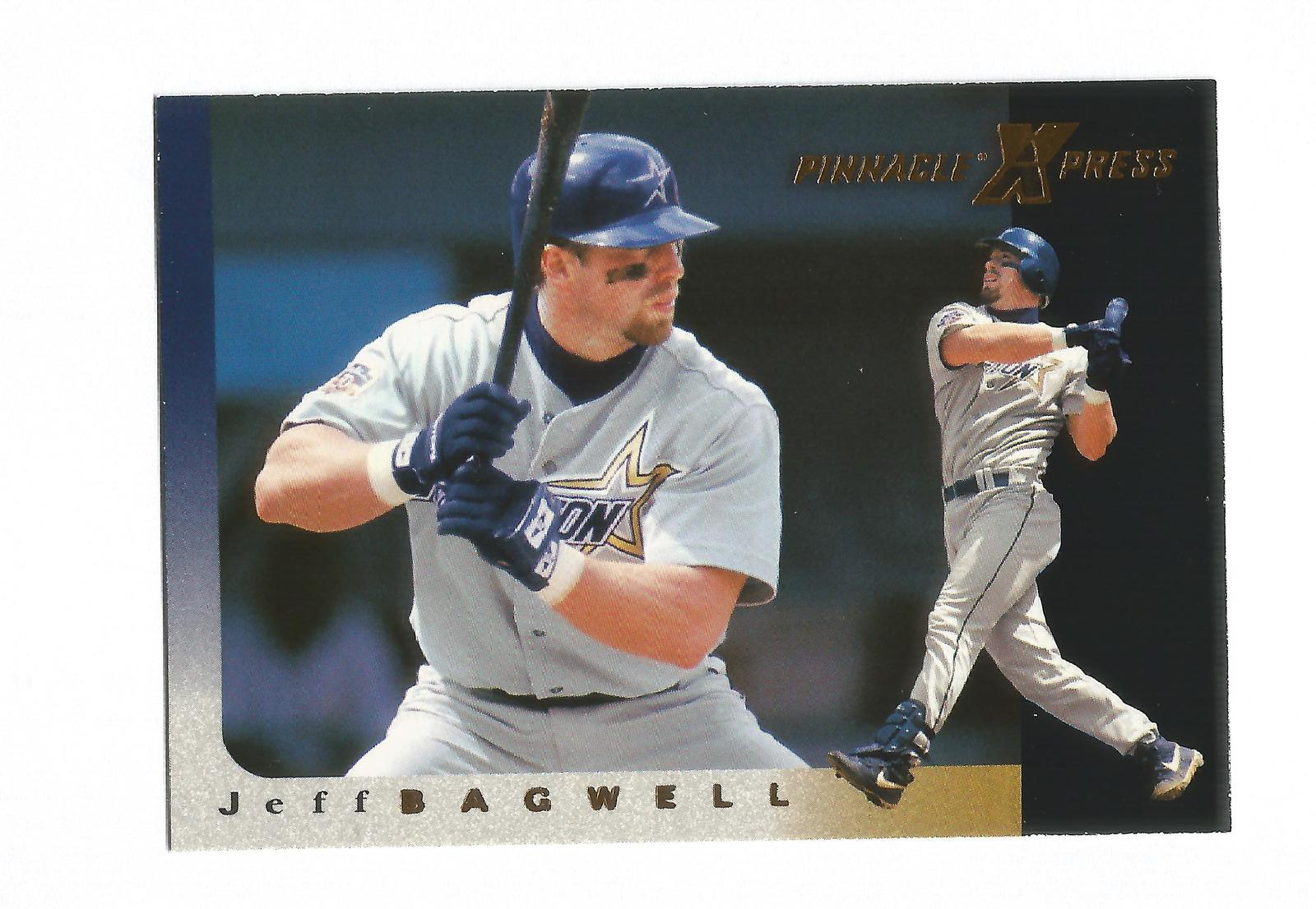 Jeff Bagwell 1997 Pinnacle Xpress Card #78 Houston Astros Free Shipping