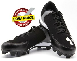 Under Armour Mens Leadoff Low RM  Baseball Cleats 1250077 001 Black size 13 - $28.69