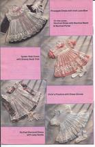 Delicate Dresses 2 Toddlers Dresses Crochet Pattern~5 Designs - $39.99