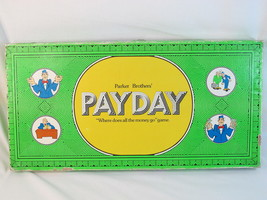 PAYDAY 1974 Board Game Parker Brothers 100% Complete Excellent Green Box @@ - $49.25