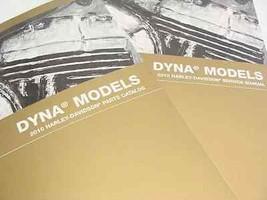 2010 Harley Davidson Dyna Modèles Réparation Shop Manuel Ensemble W 4 Livres - $308.00