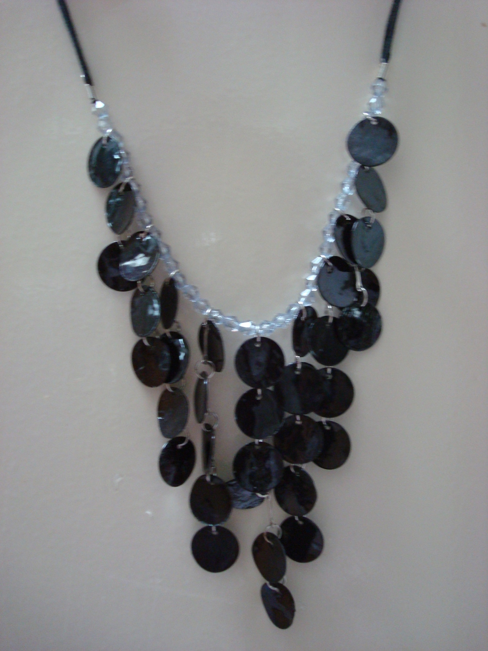 Primary image for black seashell necklace