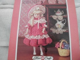 "13"" Rachel Crochet Doll Dress Pattern  - $3.00"