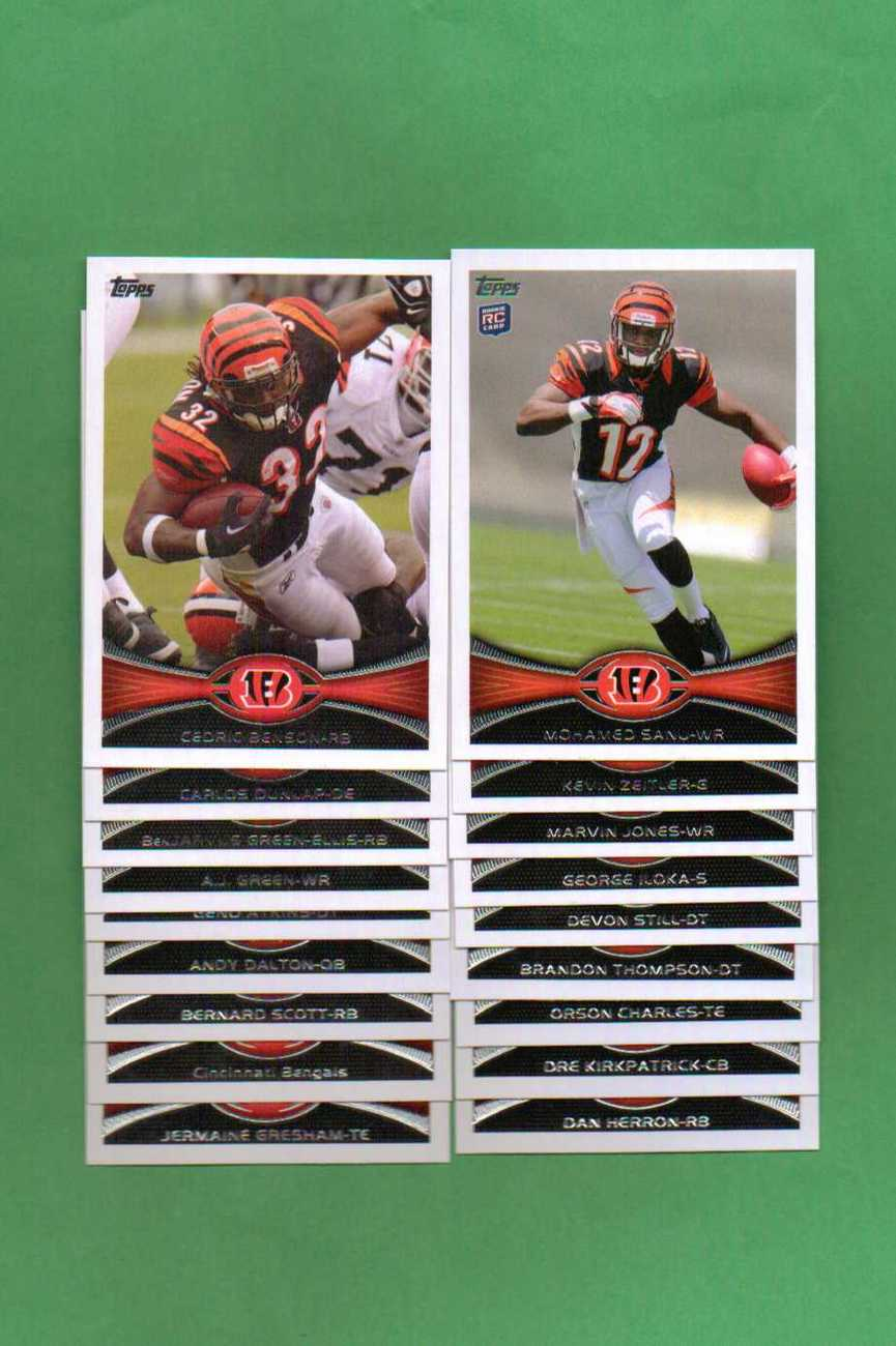 Primary image for 2012 Topps Cincinnati Bengals Football Set