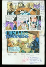 Robin Iii #5 Production Art Dc Color Guide - $303.13
