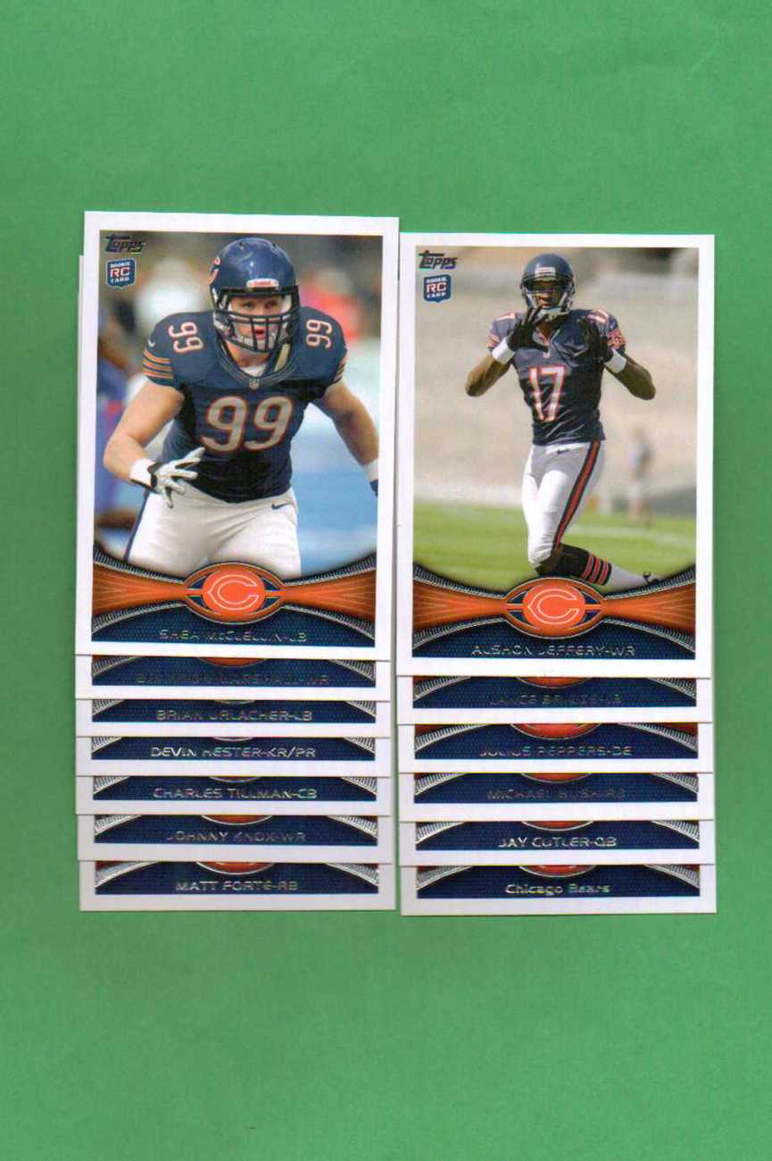 Primary image for 2012 Topps Chicago Bears Football Set