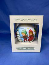 Hallmark Keepsake Joan Walsh Anglund 1982 Satin Christmas Tree Ball Ornament - $4.99