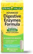 Spring Valley Advanced Digestive Enzymes Probiotic Prebiotics, 60 Vegetarian Cap - $27.71