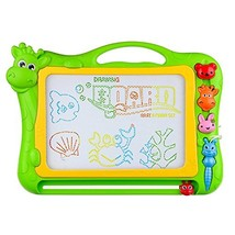 BCMRUN Magnetic Drawing Board, 12.8 inch Drawing Area Erasable Portable - $27.06