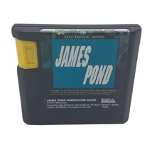 James Pond: Underwater Agent (Sega Genesis, 1991) Cart Only Tested - $10.95