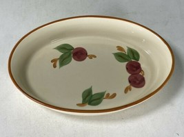 "Vintage Franciscan Apple 8"" x 11.5"" Oval Gratin Serving Bowl Made in Portugal  - $24.74"
