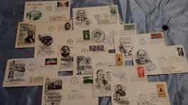 Lot of (13) FDC from the 1960's. One with no name/address. Some with Rec... - $3.99